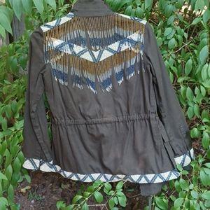 Haute Hippie jacket.